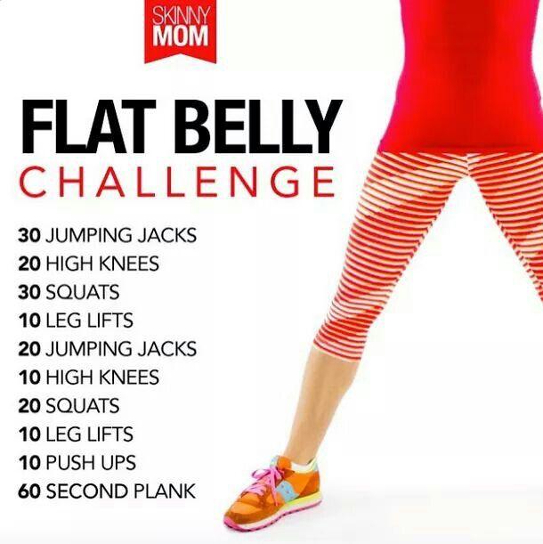 Flat belly porn
