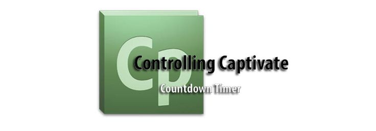 "Welcome to another installment of Controlling Captivate – Countdown Timer. We've read many complaints over the years about the limits of the Timer Widget supplied in Captivate. These range from: ""the visual style cannot be changed"", ""you cannot have an action triggered when time is up"", and even ""it's very annoying"". We decided to alleviate"