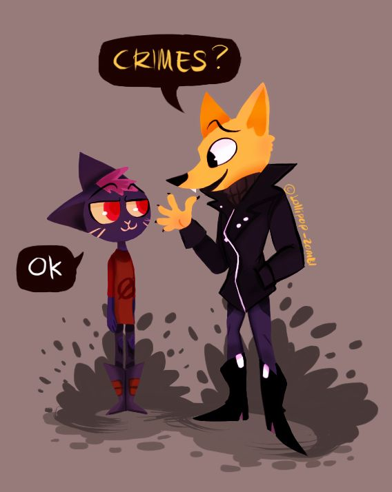 I recently playing Night in the Woods and It is awesome!  I love this game a lot! This artwork is actually a few days older. I already upload on instagram non-coloured version. So have Mae and...