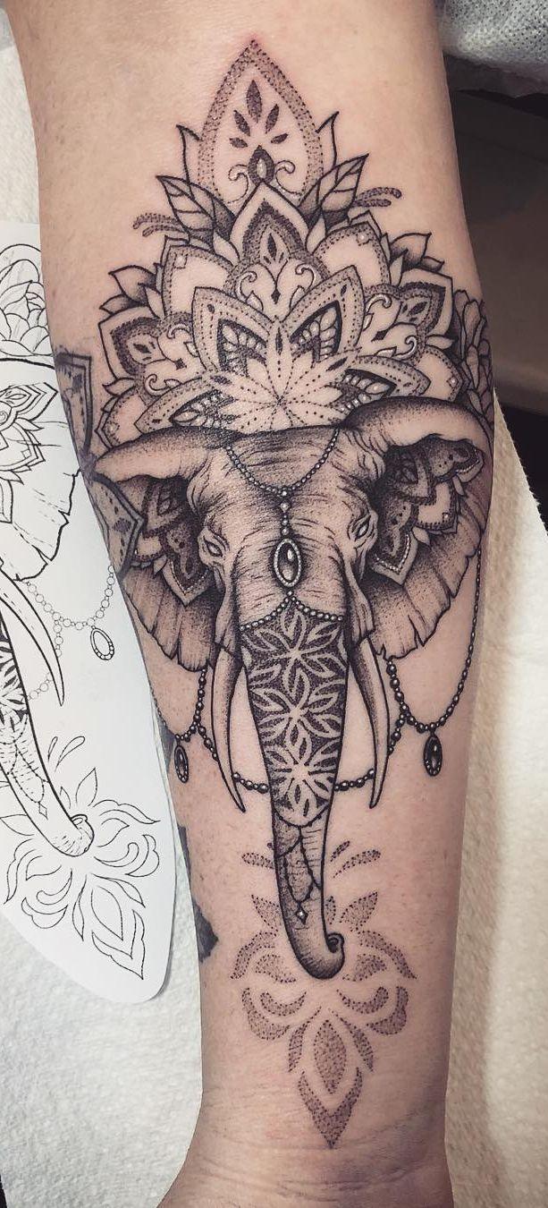 50 der schönsten Mandala Tattoo Designs für Körper & Seele