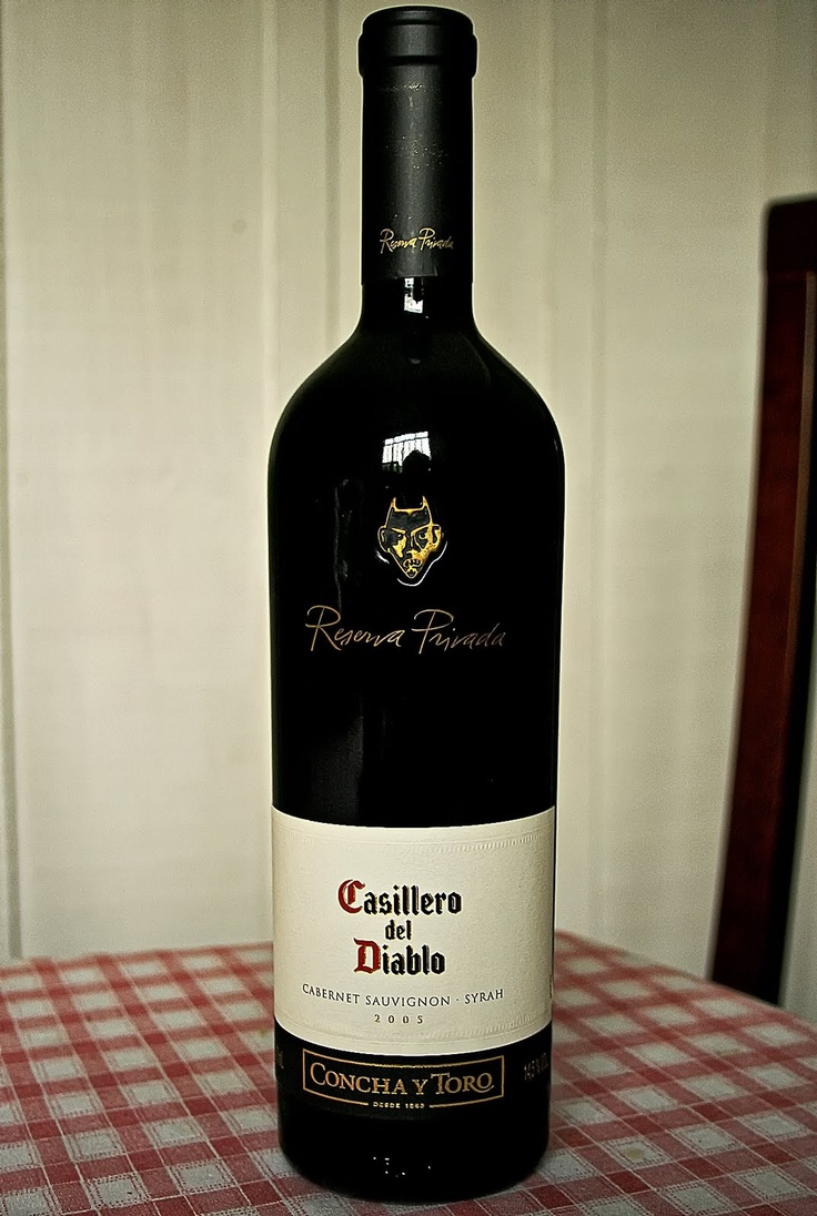 If you ever can taste this wine... but exactly this one... pleeeease try. You'll never forget it. Trust me. This one is the best one of all Casillero del Diablo wines. ; )