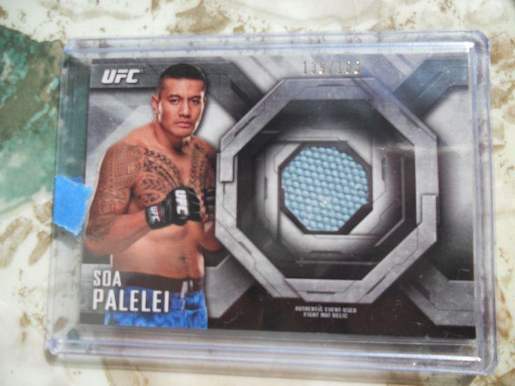 LOT OF 4 2014 Topps UFC Knockout Relic CARDs-LE/WEIDMAN/BARNETT/PALELEI #rd