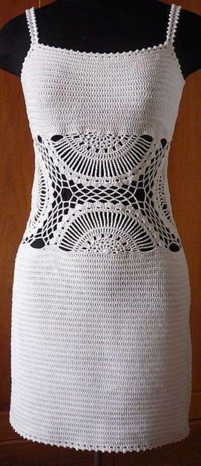 Sunrise Crochet Dress