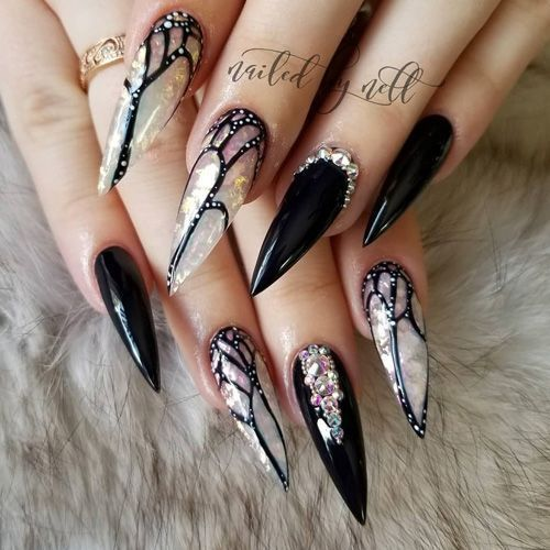 70+ Trendy und einzigartige Stiletto Nail Art Designs – NailArt
