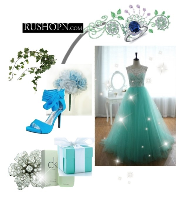 """blue wedding"" by arianitjarinto on Polyvore"