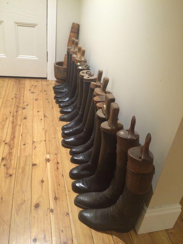 Hallway boots