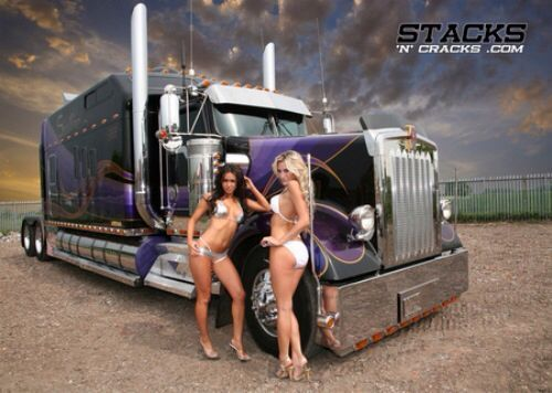 The 24 best images about Custom big rigs on Pinterest | Honda ...