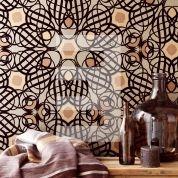 Yasmin. Dit is een flock behang met velourse elementen. Van Eijffinger. http://www.eijffinger.com/nl/products/behang/types/flock/24/1#prettyPhoto