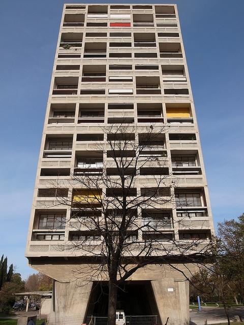 La cité radieuse, Marseille  Architect: Le Corbusier
