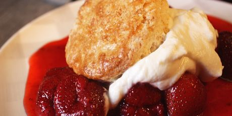 Winterberry Shortcake