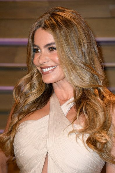 Sofia Vergara Long Wavy Cut - Sofia Vergara Looks - StyleBistro