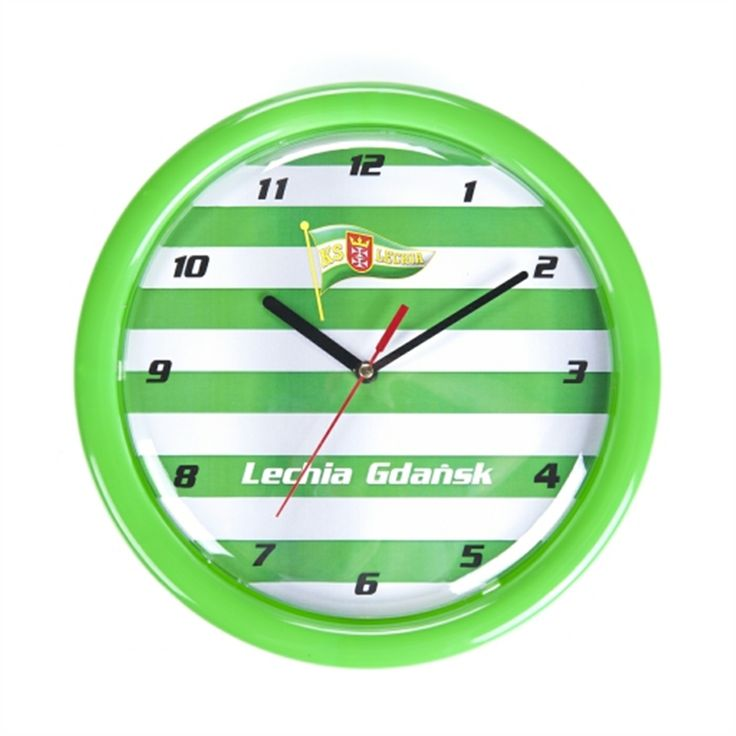 Lechia Gdańsk Clock #gdansk #flg #findlocalgift #localgift #gifts #souvenirs #sea #baltic