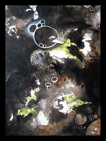 My World of Black paint