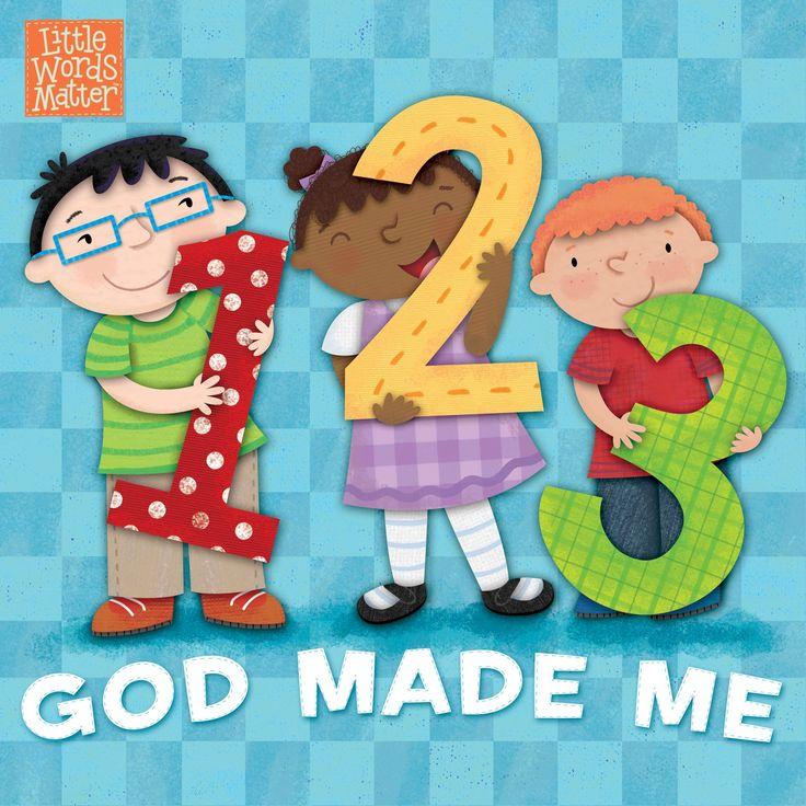 1, 2, 3 God Made Me (Little Words MatterTM): B&H Kids Editorial Staff, Holli Conger: 9781462774074: Amazon.com: Books