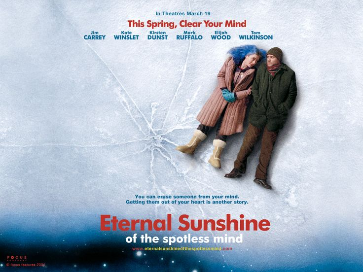 Eternal sunshine of an spotless mind: one of my favorite movies of all time