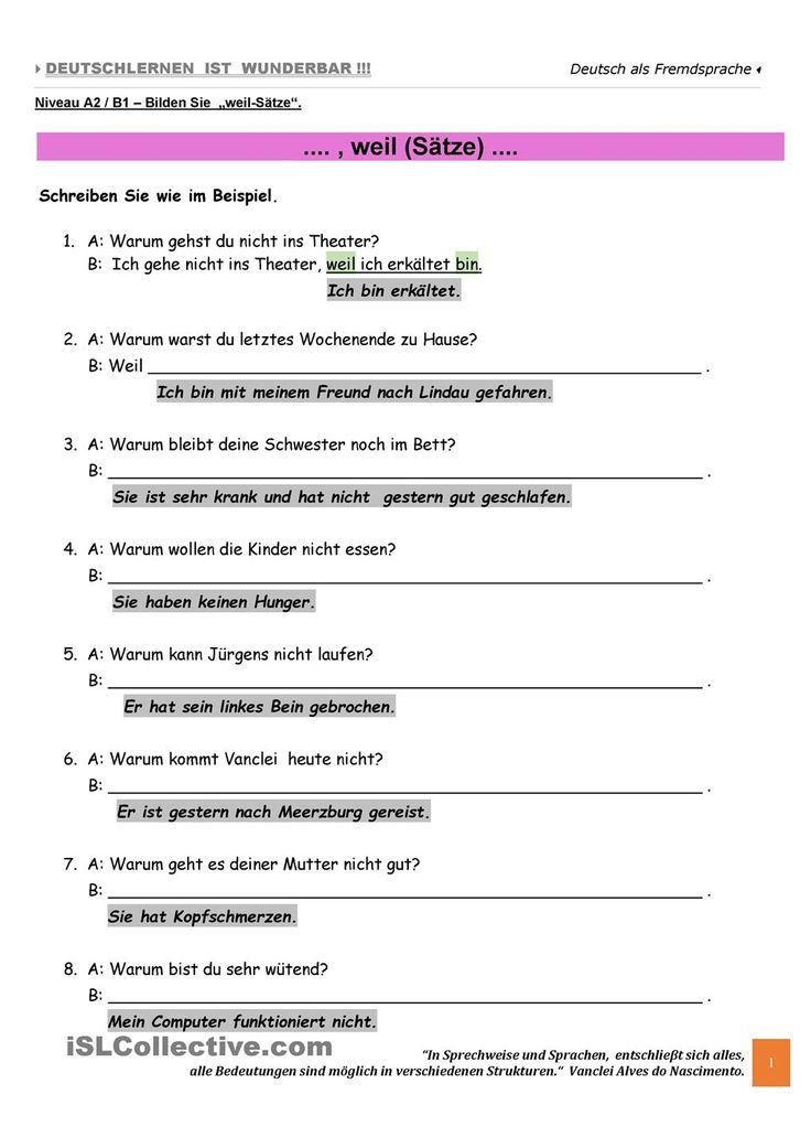 80 besten Satz Bilder auf Pinterest | Sprachen, Deutsch lernen und ...