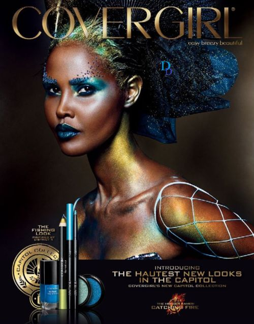 The Best of The September Issues:Ubah Hassan for Cover Girl Cosmetics New Capital Collection.