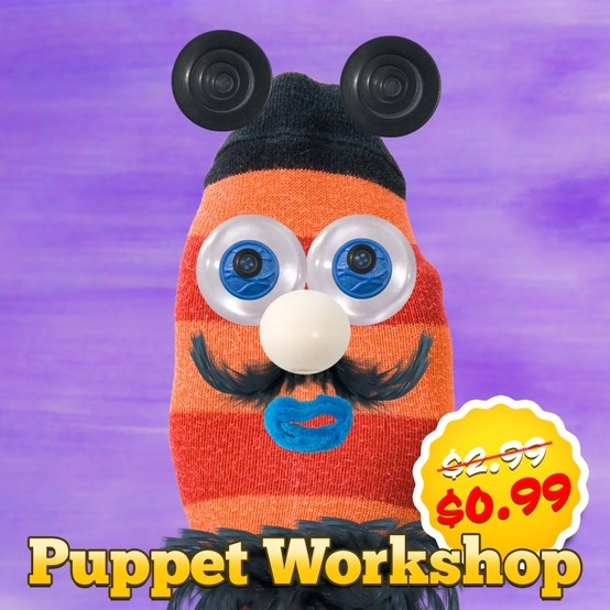 Puppet Workshop - Creativity App for Kids is discounted for a limited time!