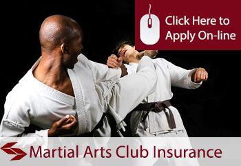 martial arts clubs insurance
