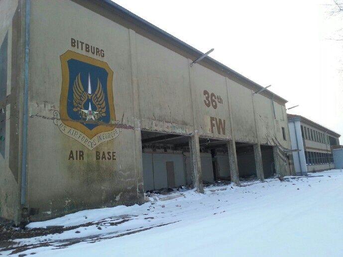 Old USAF Bitburg air base, Bitburg, Germany. 2013