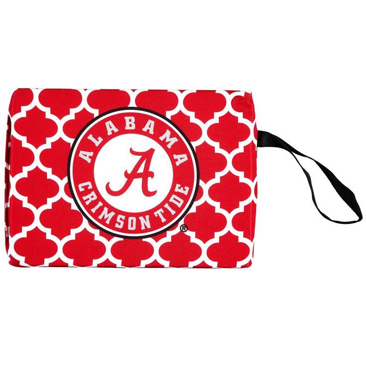 Alabama Crimson Tide Quatrefoil Stadium Cushion - $11.99
