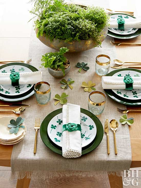 Decorate your home for St. Patrick's Day with one of these festive ideas that add just the right amount of green to your decor!
