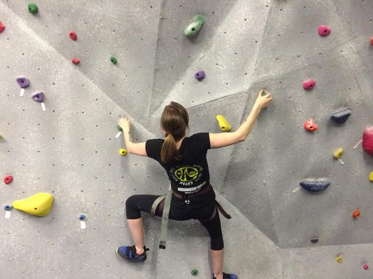 I have left my comfort zone and I'm saying yes to more things! Goodbye anxiety.. hello rock climbing!