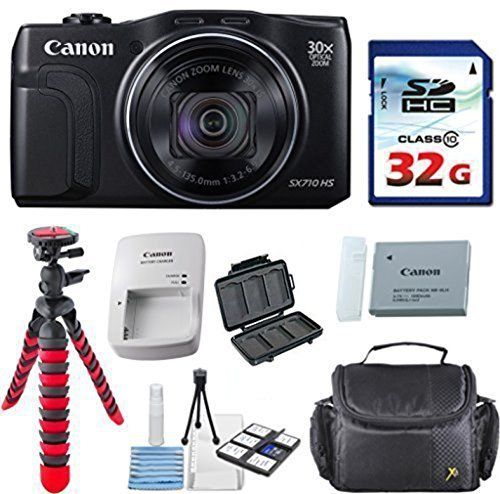 Canon Powershot SX710 HS 20.3MP Camera with 32GB High Speed Memory Card + Deluxe Camera Case + Flexible Spider Tripod + Starter Kit Deluxe Accessory Bundle review - https://www.bestseller.ws/blog/camera-and-photo/canon-powershot-sx710-hs-20-3mp-camera-with-32gb-high-speed-memory-card-deluxe-camera-case-flexible-spider-tripod-starter-kit-deluxe-accessory-bundle-review/