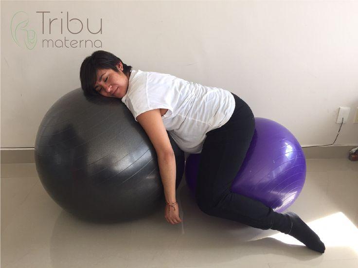 5 sencillas posiciones para relajarte entre las contracciones - Tribu Materna