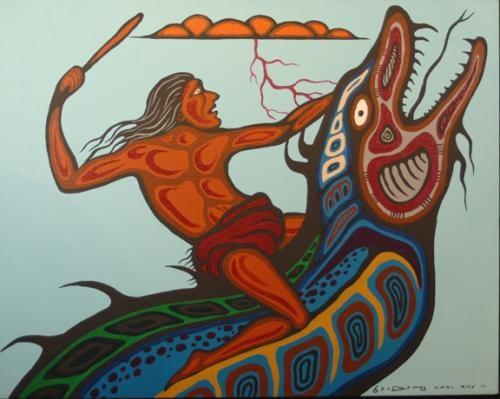 Carl Ray (Woodland Cree) - Getchi+Pine