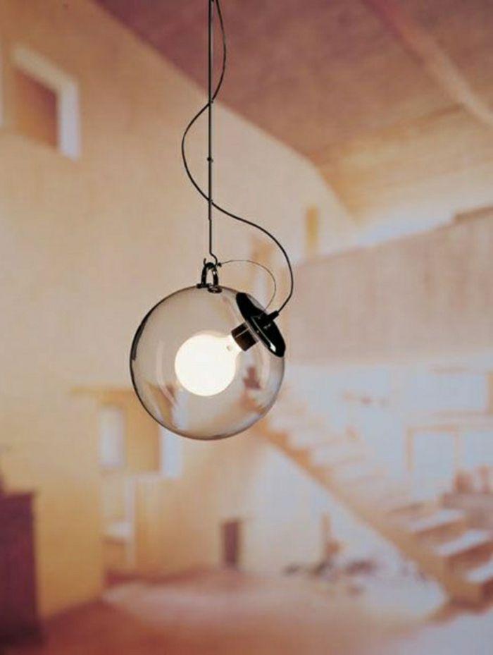 Lampe Glühbirnenform glas   Glaskugel lampe, Lampe, Glaskugel