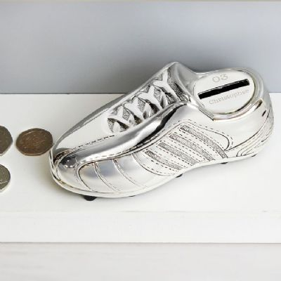 Personalised Football Boot Money Box