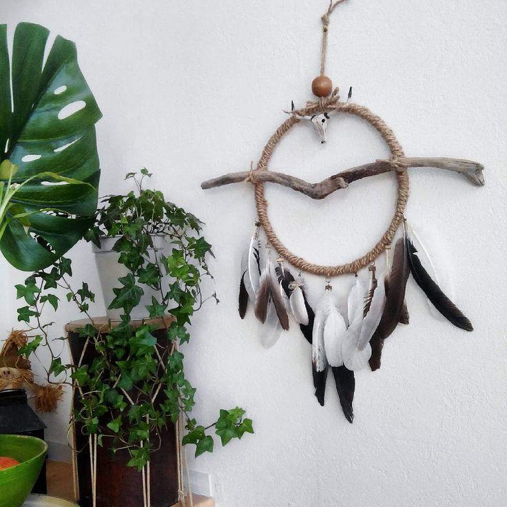 17 meilleures id es propos de decor de cr ne sur - Tete de chevreuil decoration ...