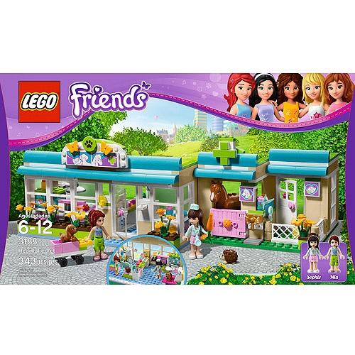 Lego Friends Heartlake Vet 40 Emily Christmas 2012