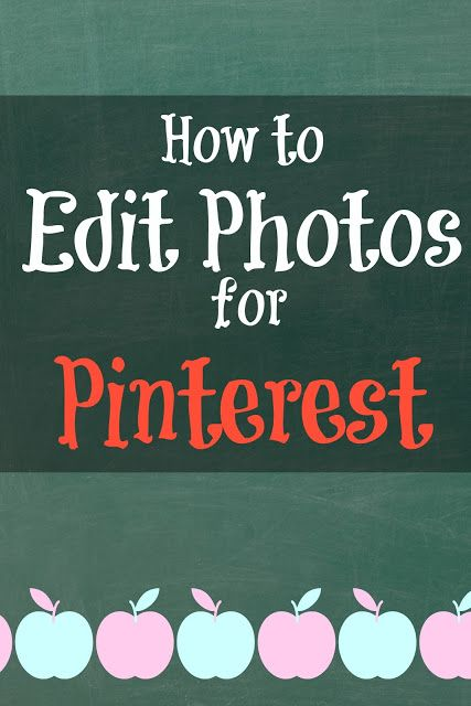 www.thedomesticgeekblog.com Photo Editing for Pinterest {Tutorial}  by Domestic Geek