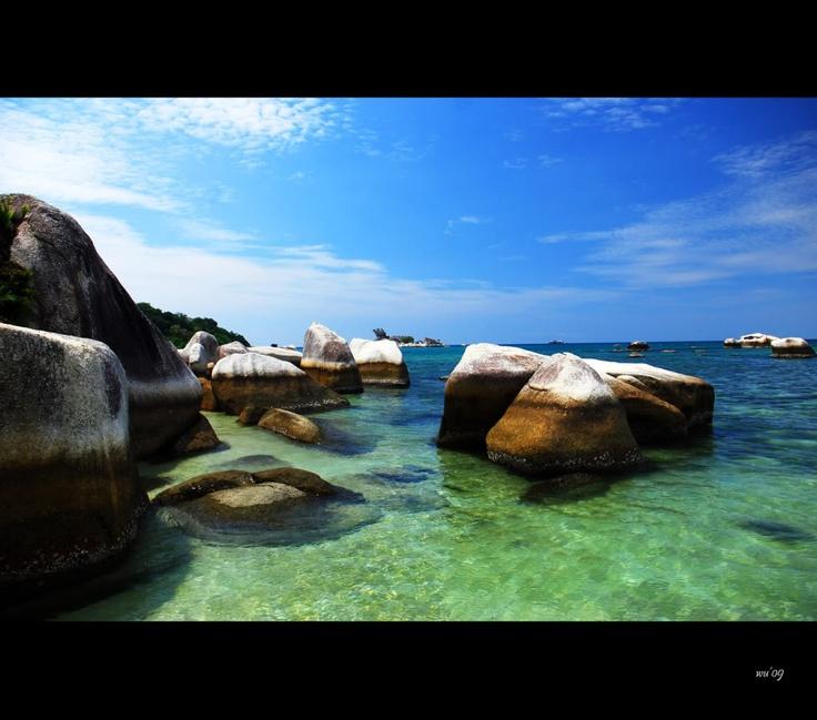 Tanjung Tinggi, Bangka Belitung Indonesia