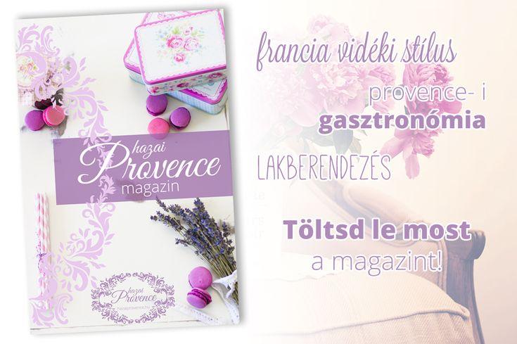 hazai Provence Magazin - kiadványszerkesztés, tördelés, fotók  Letölthető itt: http://hazaiprovence.hu/toltsd-le-a-provence-magazint/