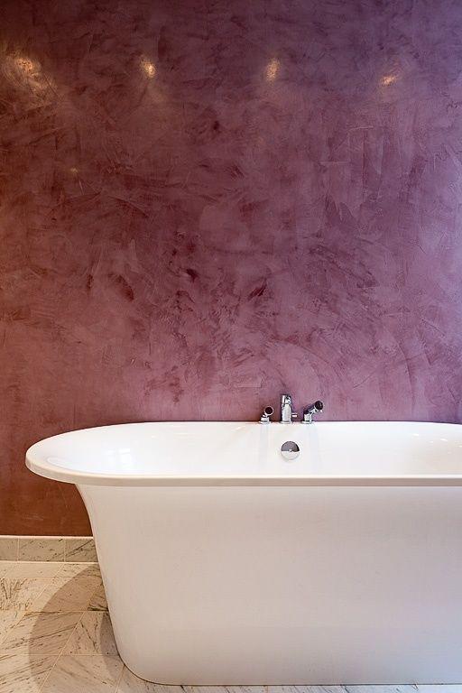 Bath - like colours & use of feature wall