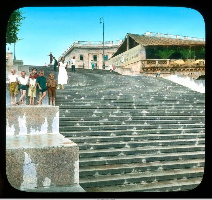 Одесса, Приморская (Потемкинская) лестница: