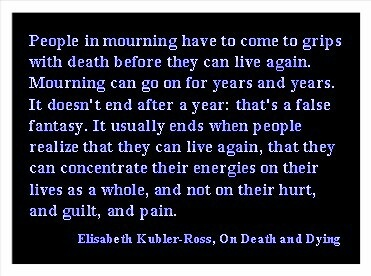 stages of death that a person can experience in elisabeth kubler ross on death and dying The 5-stage model of death was developed by elizabeth kubler-ross this model identifies the five stages that terminally ill people experience when.