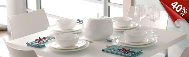 Denby is supposed to be a durable traditional British brand for dinnerware