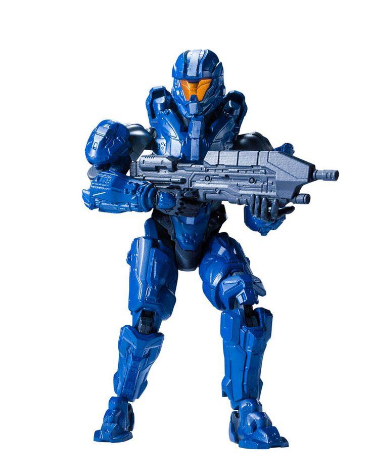 Maqueta Gabriel Thorne 13 cm. Halo. Bandai Estupenda maqueta para montar de Gabriel Thorne de 13 cm de altura, fabricado en PVC y visto en el videojuego Halo, 100% oficial y licenciada.