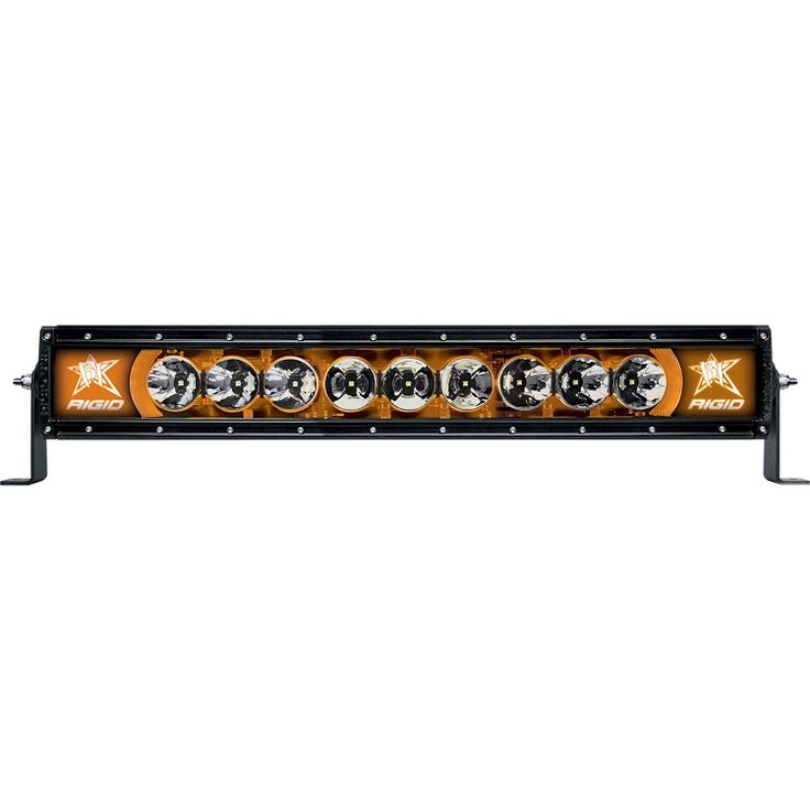 "Radiance 20"" LED Light Bar with Amber Back-Light"