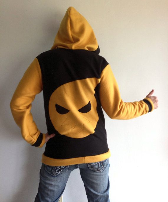 Hey, I found this really awesome Etsy listing at http://www.etsy.com/listing/114601457/soul-fleece-hoodie-soul-eater-cosplay