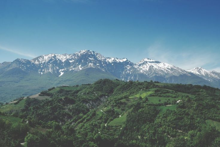 Download this free photo here www.picmelon.com #freestockphoto #freephoto #freebie /// Overgrowen Mountains | picmelon