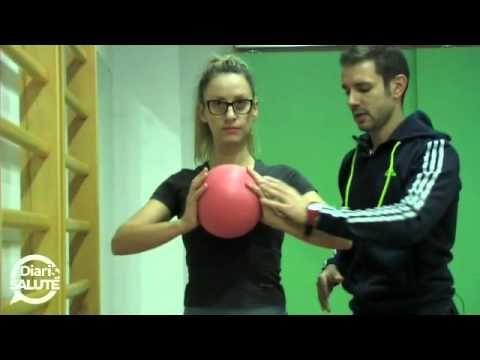 Esercizi per il seno    Come tonificare e rassodare il seno/petto con 3 esercizi   A CASA - YouTube