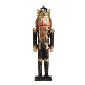 Kurt Adler 20-Inch King Nutcracker by Kurt Adler. $45.58. Composed of wood. Measures 20 inches tall. Wonderfully detailed nutcracker. This Kurt Adler 20-inch King Nutcracker is a classic, festive way to add to your holiday décor or nutcracker collection. Dressed in a traditional regal outfit, this nutcracker stands at attention at about 20 inches, and is holding a long sceptor.