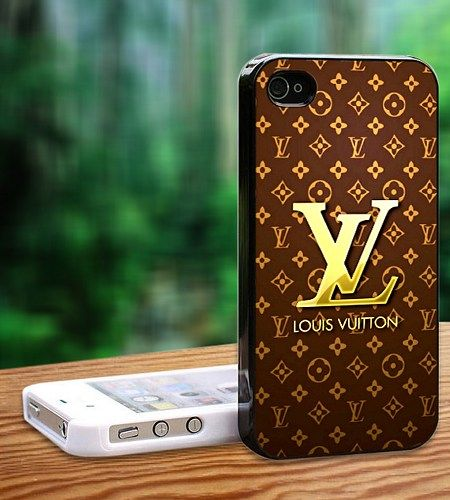 "Louis Vuitton Gold Print On Hard Plastic For iPhone 5/5s, White Case  This case is available for: iPhone 4/4S iPhone 5/5S iPhone 6 4.7"" screen Samsung Galaxy S4 Samsung Galaxy S5 iPod 4 iPod 5  Please"