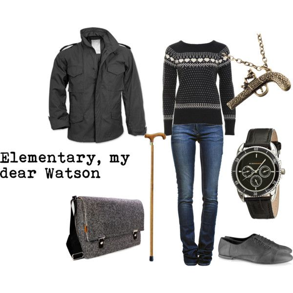 """John Watson (BBC's Sherlock)"" by favourite-fictional-fashions on Polyvore"