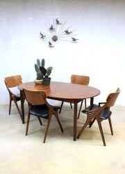 Mid century danish dinner table, vintage Deense uitklapbare tafel XXL  www.bestwelhip.nl